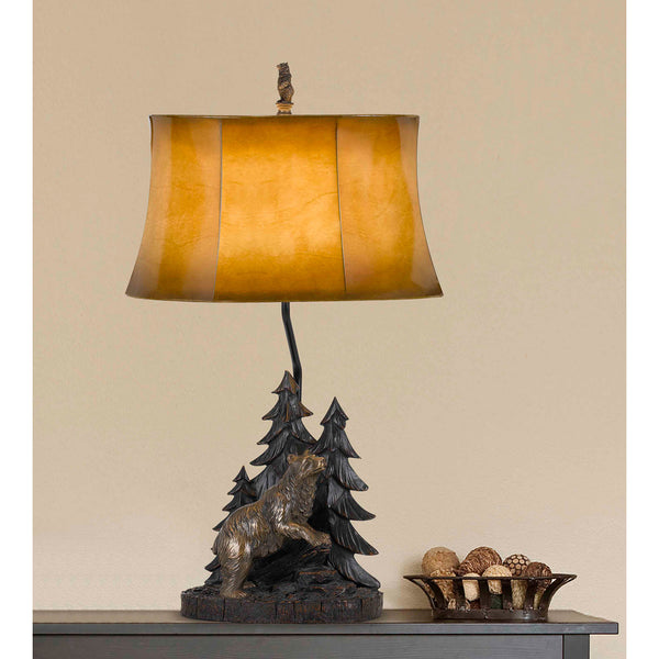Forest Bear Table Lamp