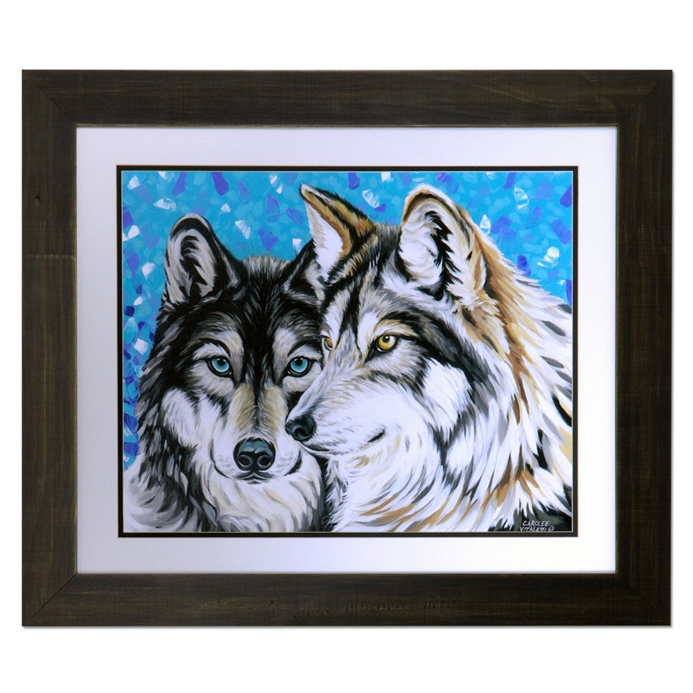 Grey Wolf 2 Framed Print