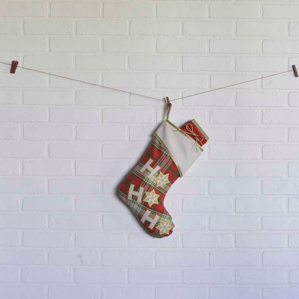 Ho Ho Christmas Stocking 15 x 11