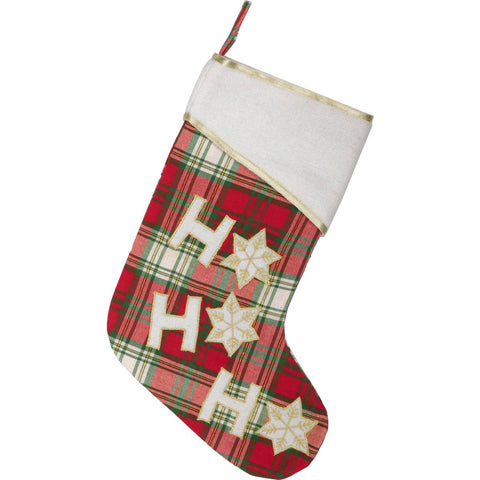 Ho Ho Christmas Stocking 15 x 11 Front