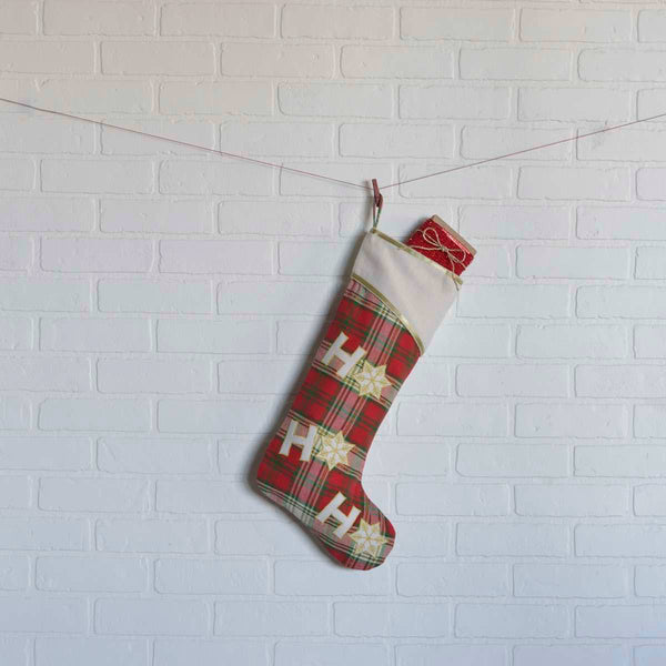 Ho Ho Christmas Stocking 20 x 11