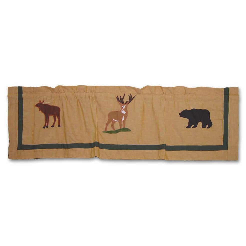 Lodge Fever Curtain Valance