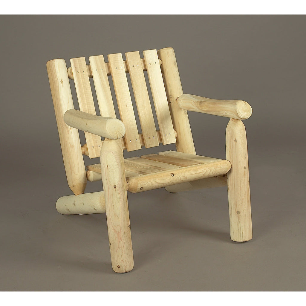 White Cedar Log Armchair