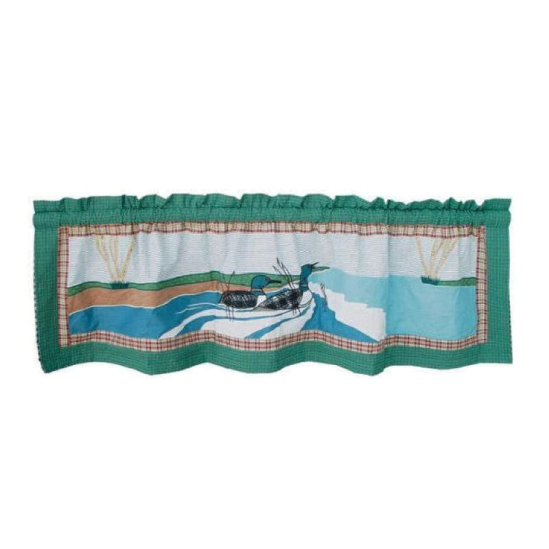 Loon Curtain Valance