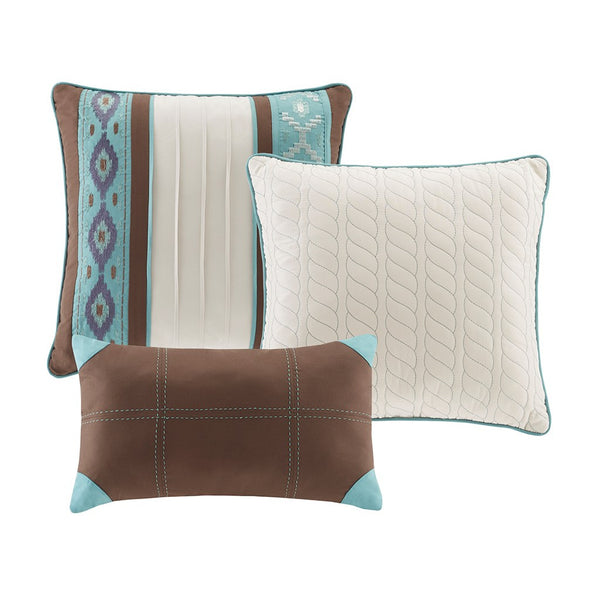 Malone Quilted Coverlet Set Pillows