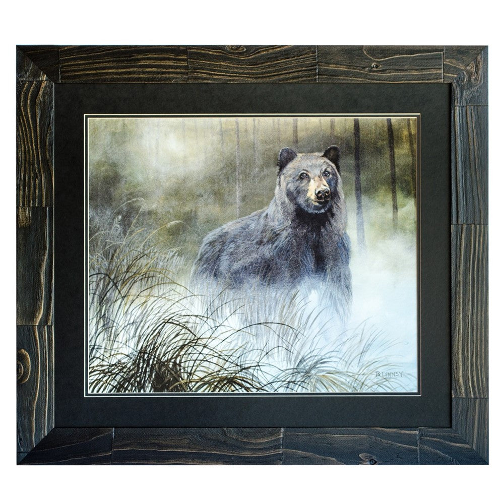 Misty Wild Framed Print