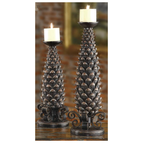 Monticola Candle Holder Set of 2