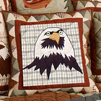 Mountain Whispers Toss Pillows - Eagle