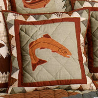 Mountain Whispers Toss Pillows - Fish