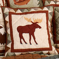 Mountain Whispers Toss Pillows - Moose