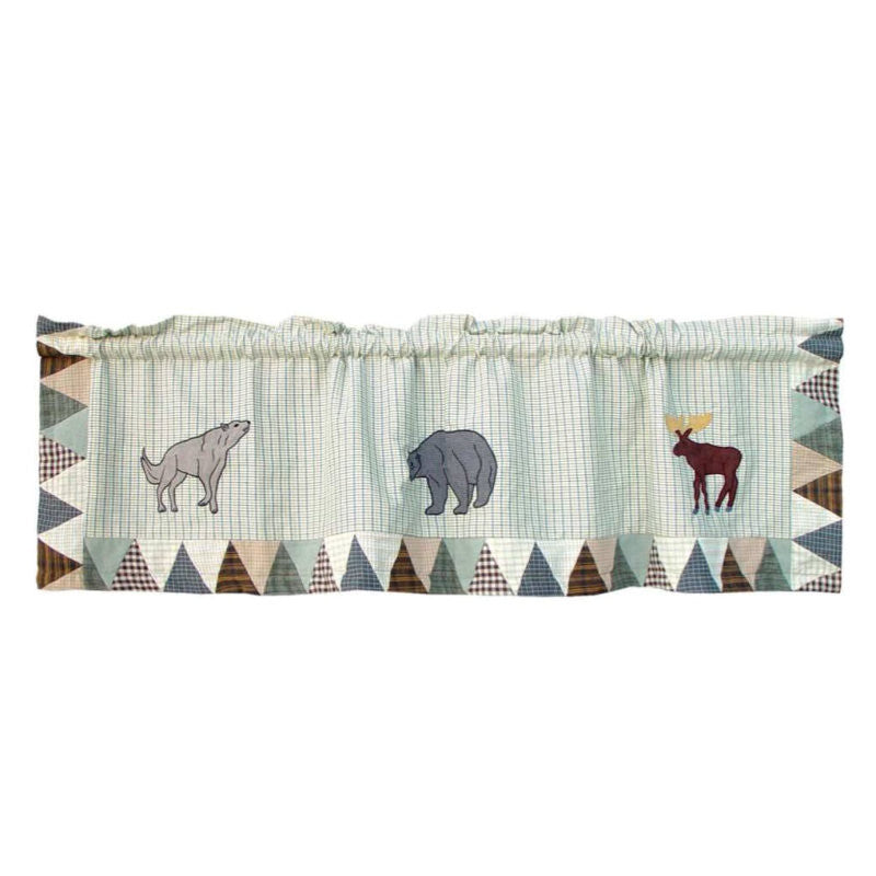 Mountain Whispers Curtain Valance
