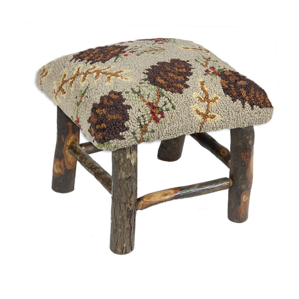 Northwoods Cones Hickory Stool
