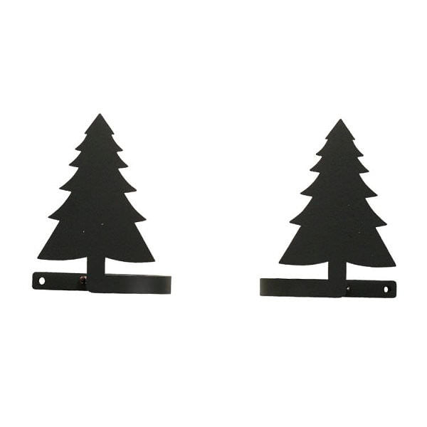 Pine Tree Curtain Tie Backs Pair