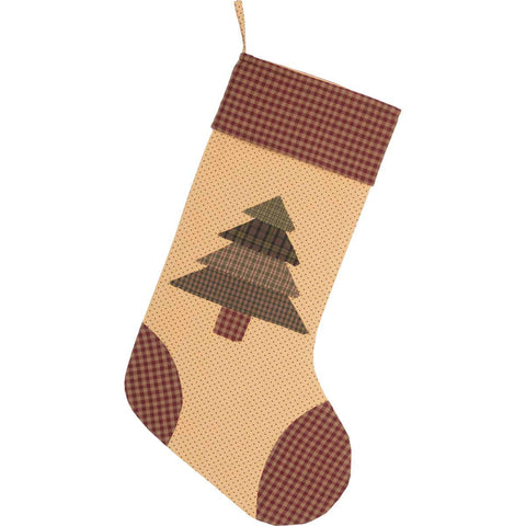 Sequoia Christmas Stocking Front