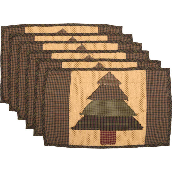 Sequoia Quilted Placemat Set of 6