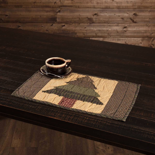 Sequoia Quilted Placemat Set