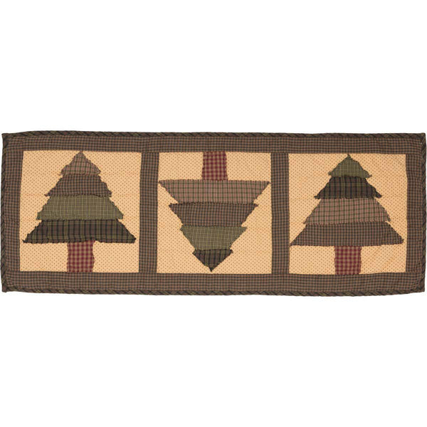 Sequoia Quilted Table Runner 13 x 36 Top