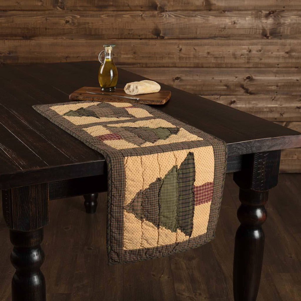 Sequoia Quilted Table Runner 13 x 36