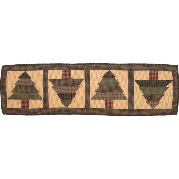 Sequoia Quilted Table Runner 13 x 48 Top