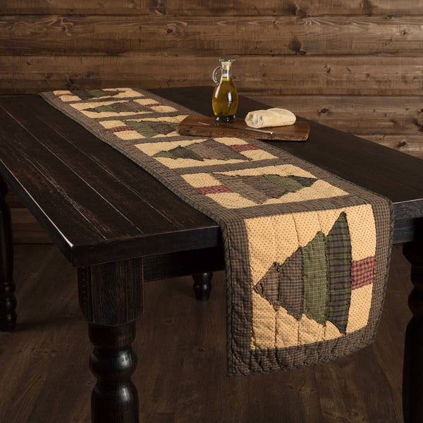 Sequoia Quilted Table Runner 13 x 90