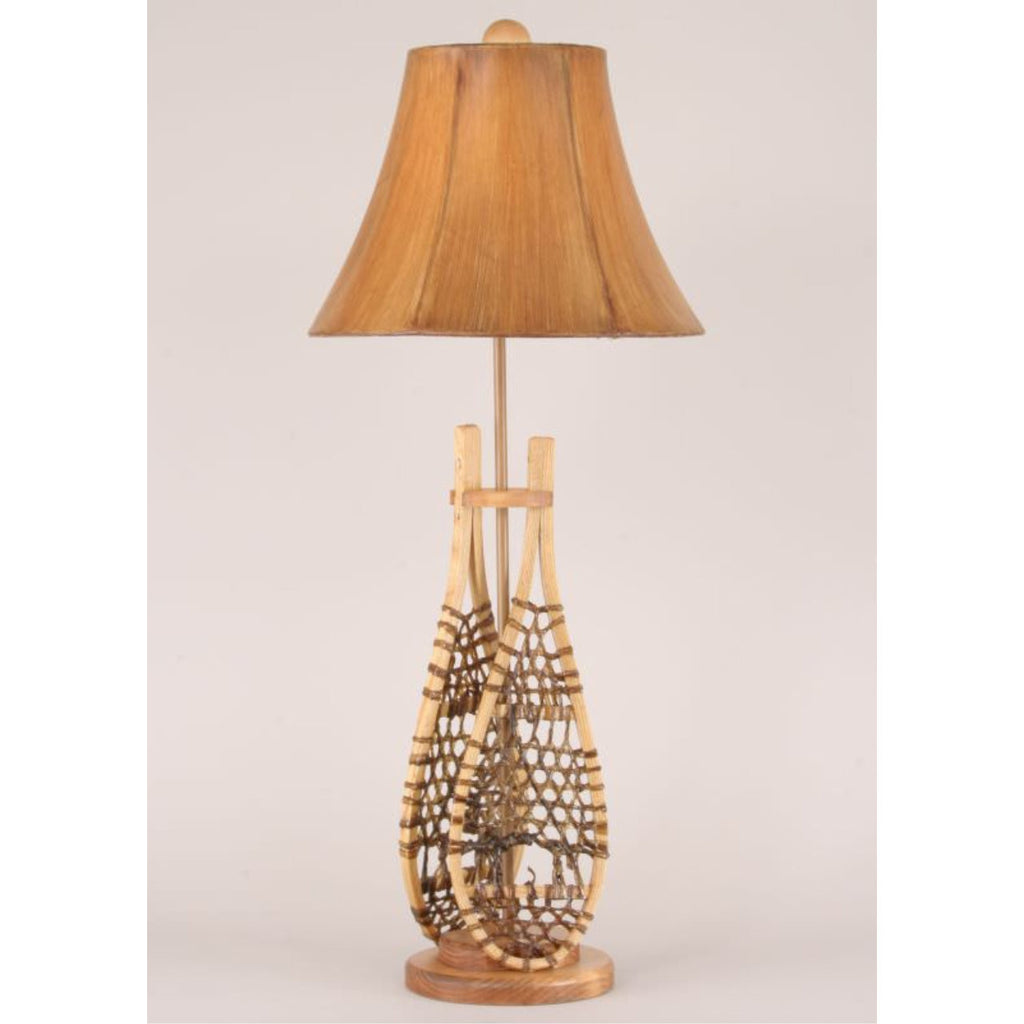Snow Shoe Buffet Lamp