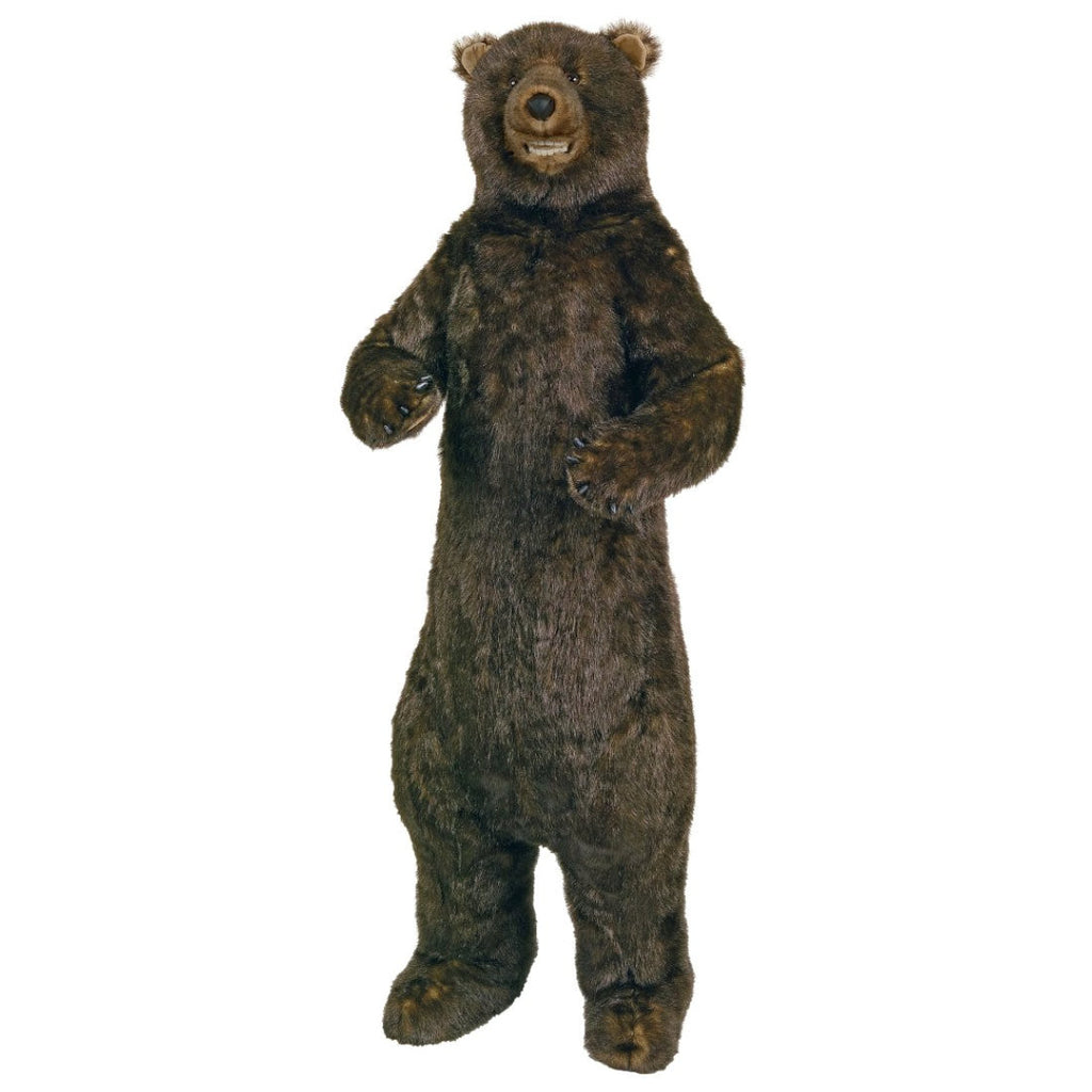 Standing Grizzly Bear with Smile 58""