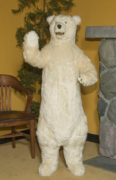 Standing Polar Bear with Smile 58""