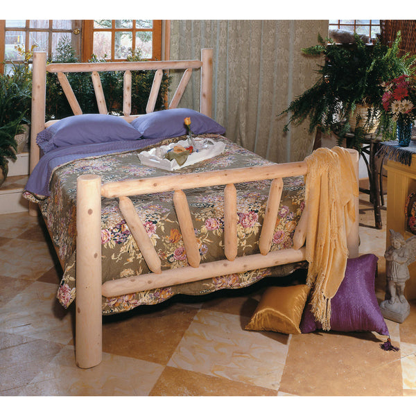Sunburst Log Bed