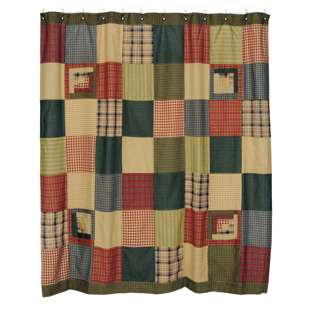 Tea Cabin Shower Curtain