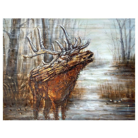 Cabin Wall Art cabin wall art | framed cabin prints | duck wall mount sculptures