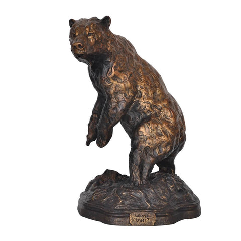 The Challenge Bear Statue