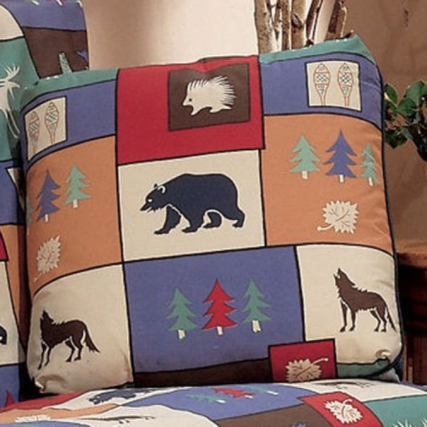 The Woods Square Decorative Pillow