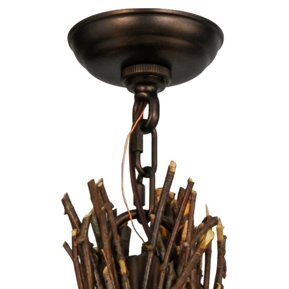 Twigs chandelier 28w available in 5 finishes lakecabin depot twigs chandelier 28w canopy aloadofball Image collections
