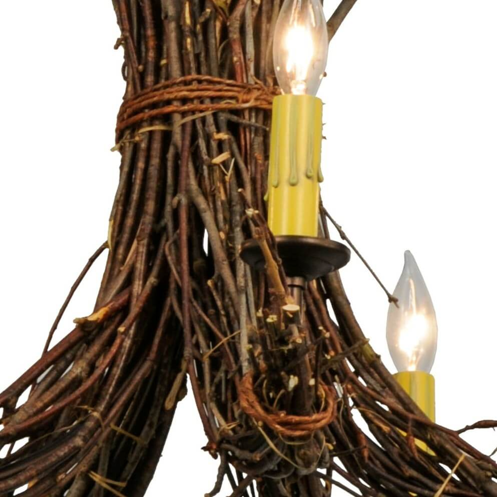 Twigs chandelier 28w available in 5 finishes lakecabin depot twigs chandelier 28w mozeypictures Images