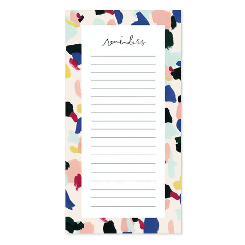 Notepad: Confetti Reminders Pad