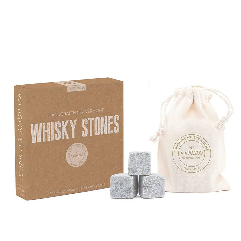TEROFORMA - Whisky Stones® Craft, Set of 6