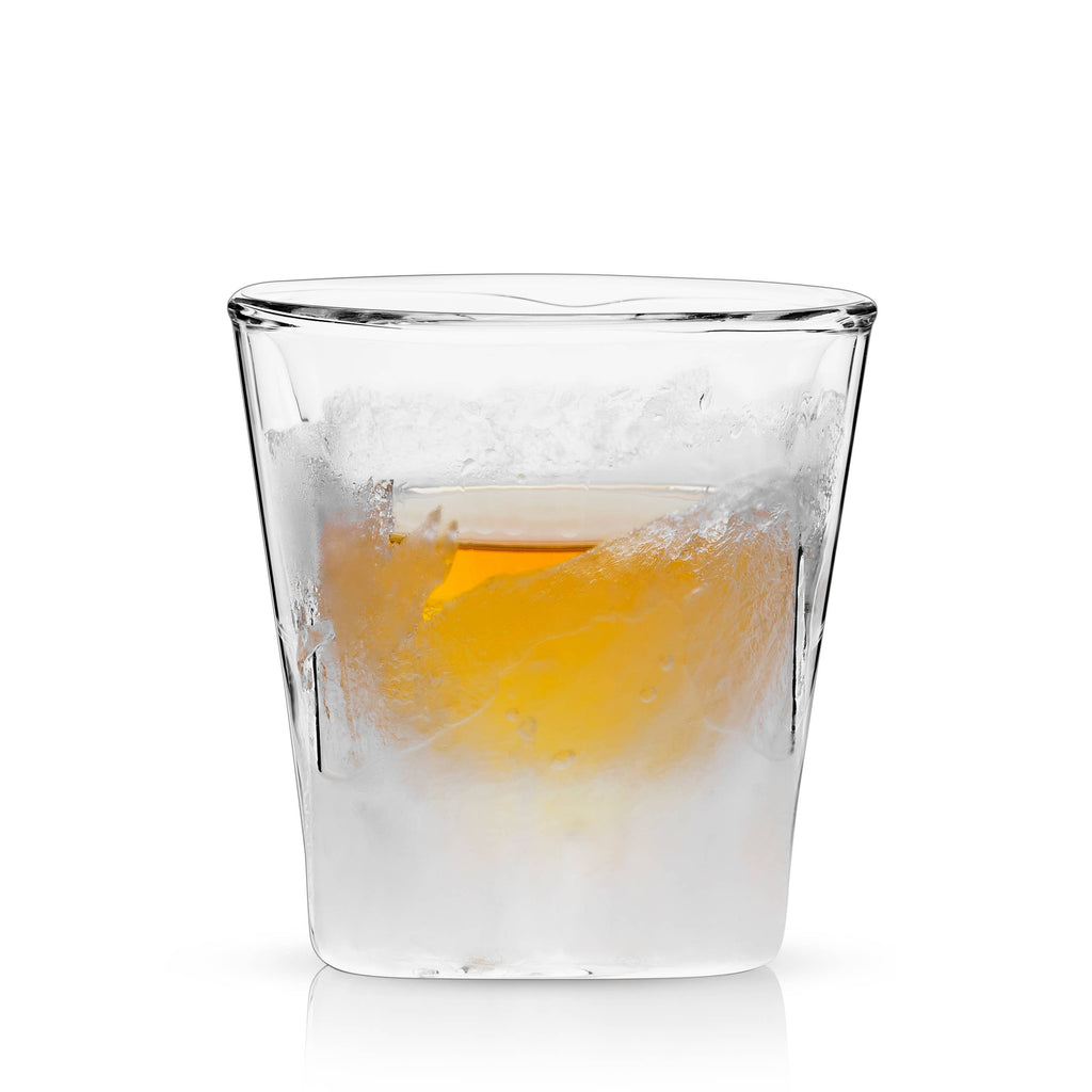 Viski - Raye™ Double Walled Chilling Whiskey Glass by Viski