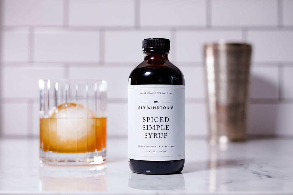 Statesman Beverage Co - Sir Winston's Spiced Simple Syrup