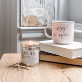 Sweet Water Decor - Holiday Soy Candle | Silver Tin Candle