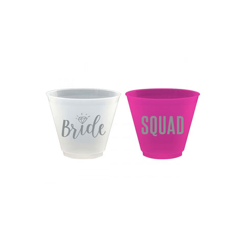 Bride Squad Frost Flex Cups