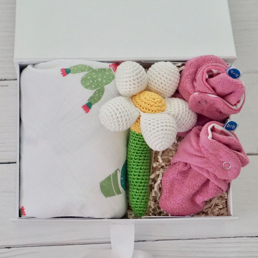 Prickled with Love Girl Flower Box