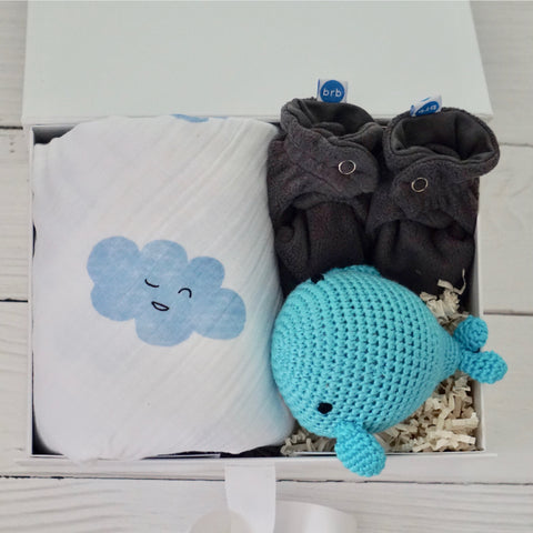 Sweet Dreams Boy Whale Box