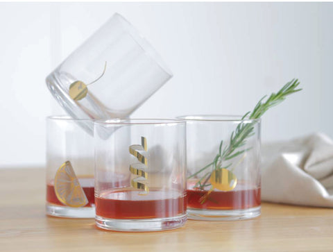 Garnish Glasses (Set of 2)