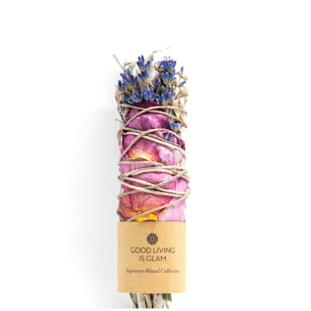 Mini Floral Sage Smudge Stick