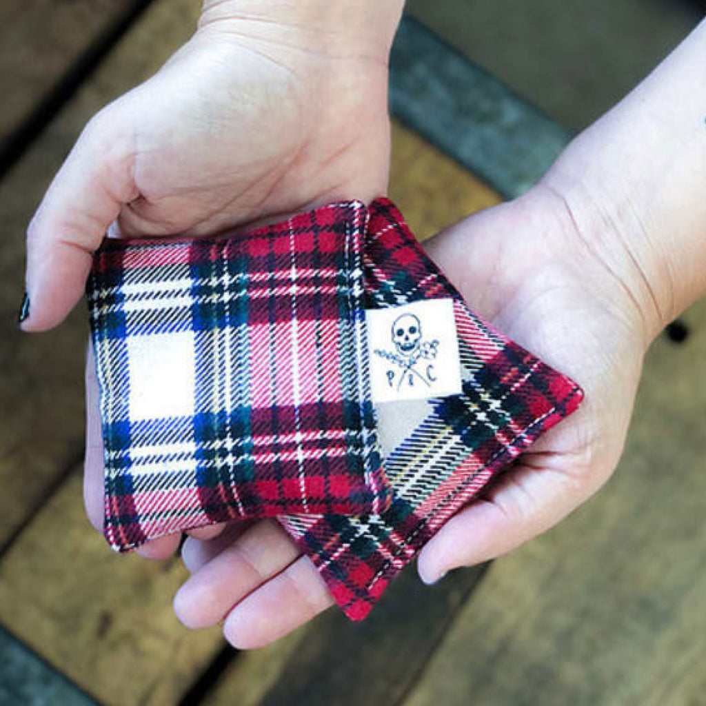 Plaid Hand Warmers