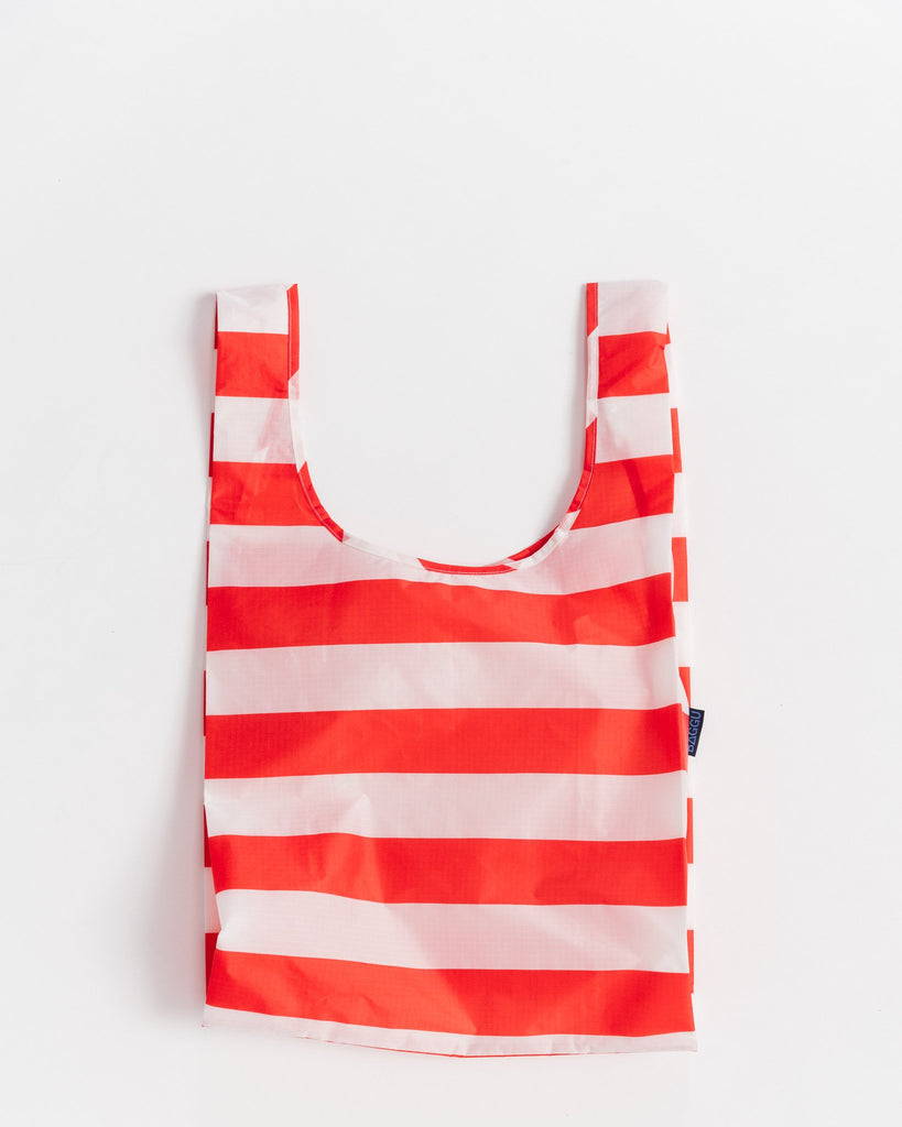 Reusable Tote - Red Stripe