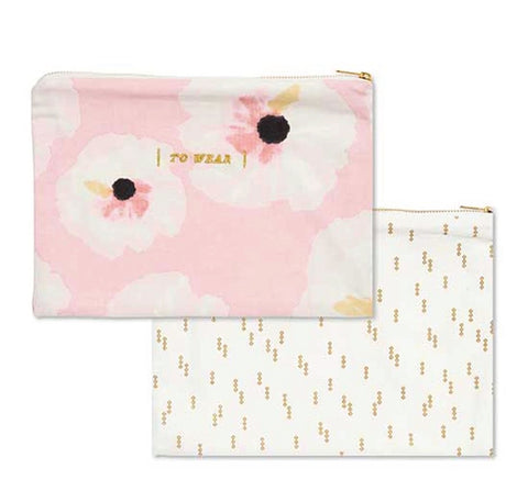 To Wash & To Wear Lingerie Pouches (set of 2)