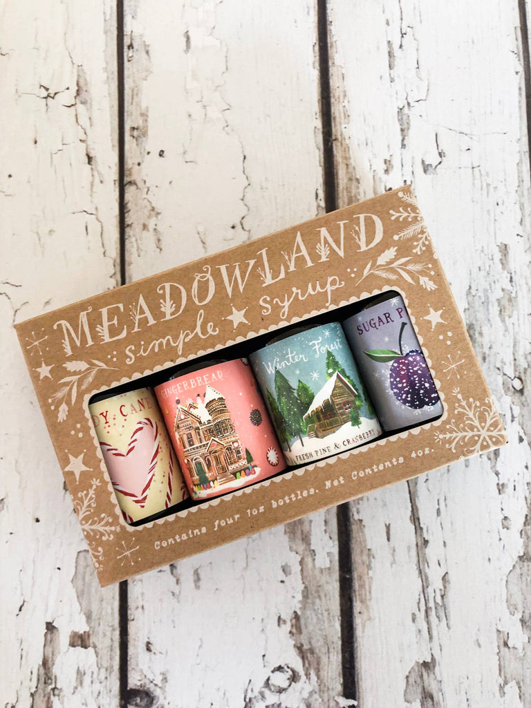 Meadowland Syrup - Wonderland Collection: Holiday Simple Syrup Sampler