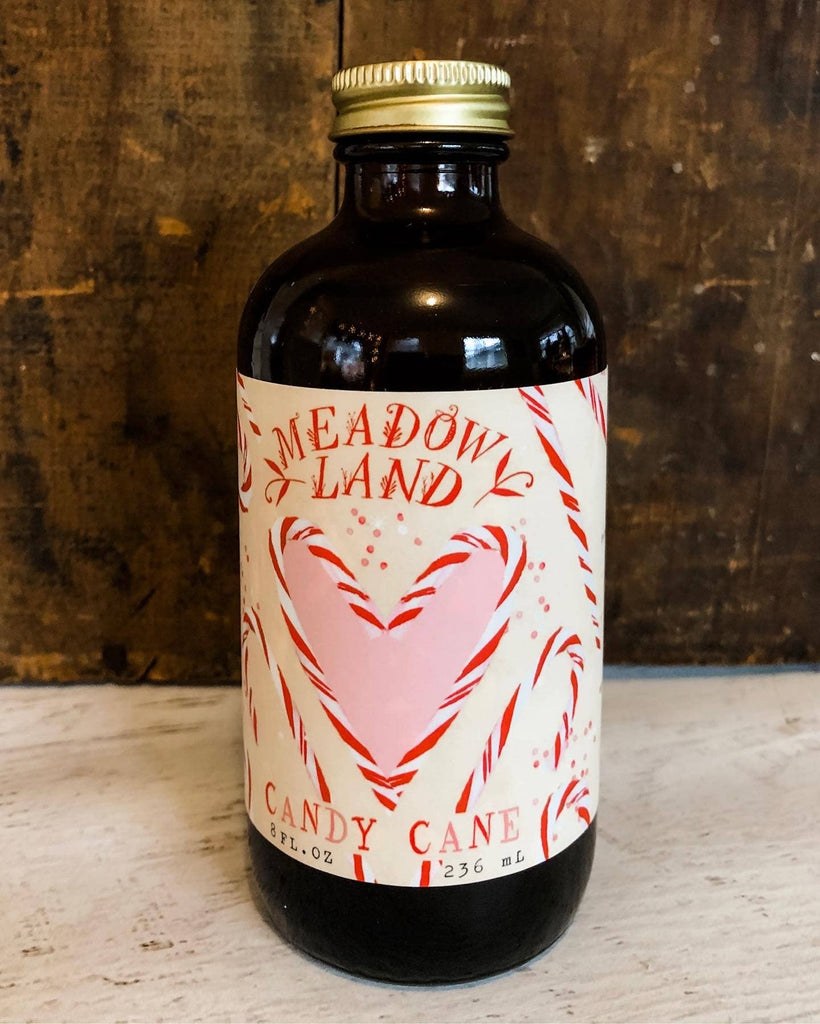 Meadowland Syrup - Candy Cane Simple Syrup