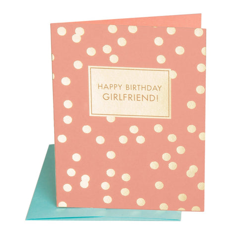 The Social Type - Girlfriend Birthday Card